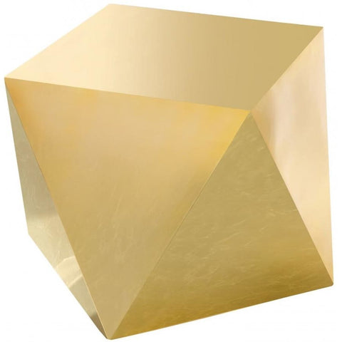 Meridian Furniture Gemma End Table - Gold - End Table
