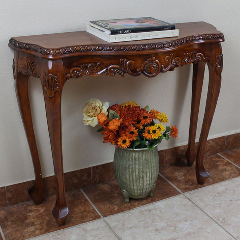 International Caravan Carved Console Table - Other Tables