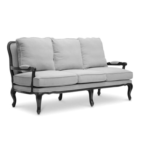 Baxton Studio Antoinette Classic Antiqued French Sofa - Living Room Furniture