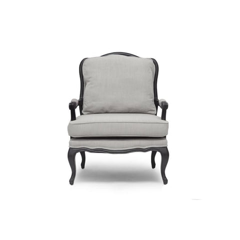 Baxton Studio Antoinette Classic Antiqued French Accent Chair - Living Room Furniture