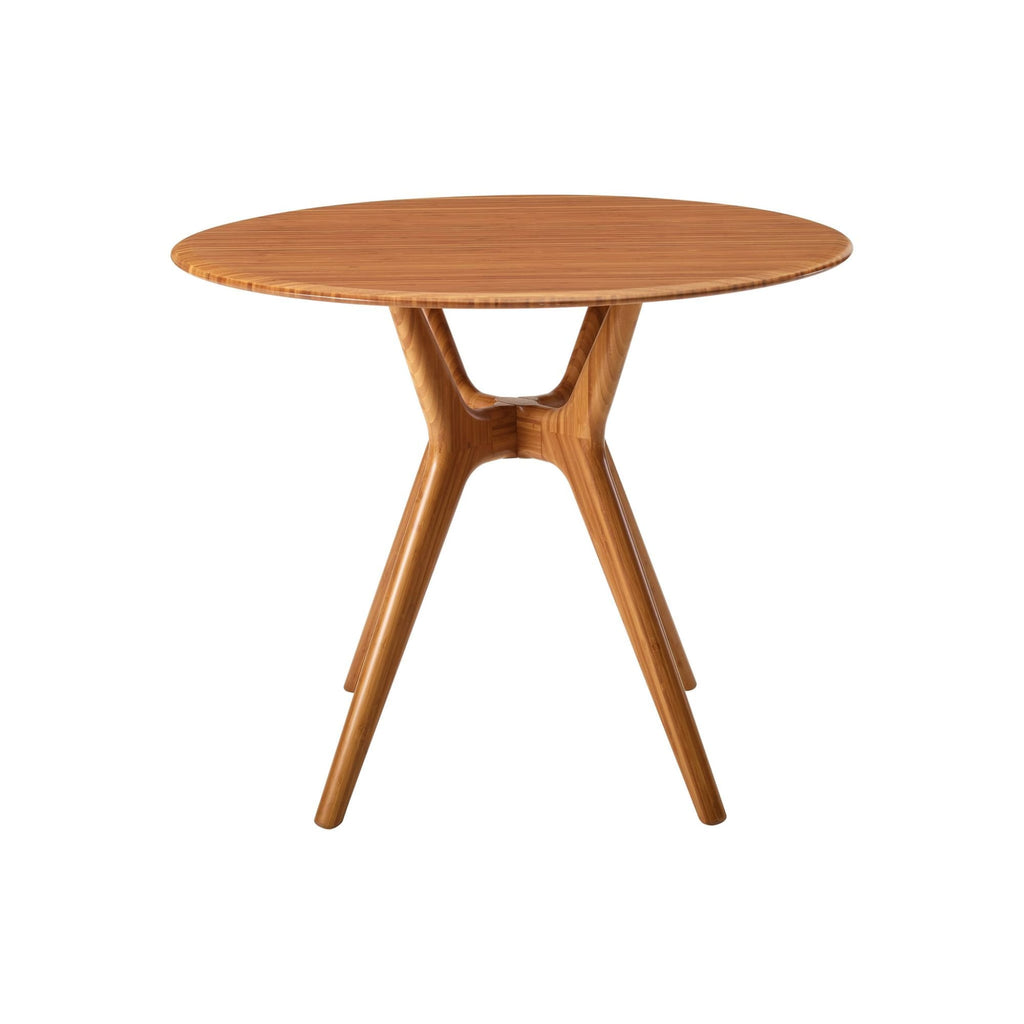 Greenington Sitka 36 Round Dining Table Amber - Dining Tables