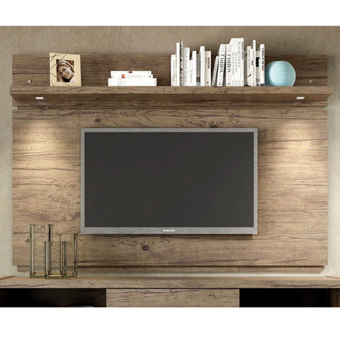 Manhattan Comfort Park 1.8 Floating Wall TV Panel with LED Lights - TV Stands