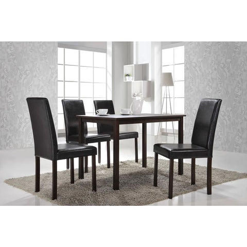 Baxton Studio Andrew Modern Dining Chair - Dining Room