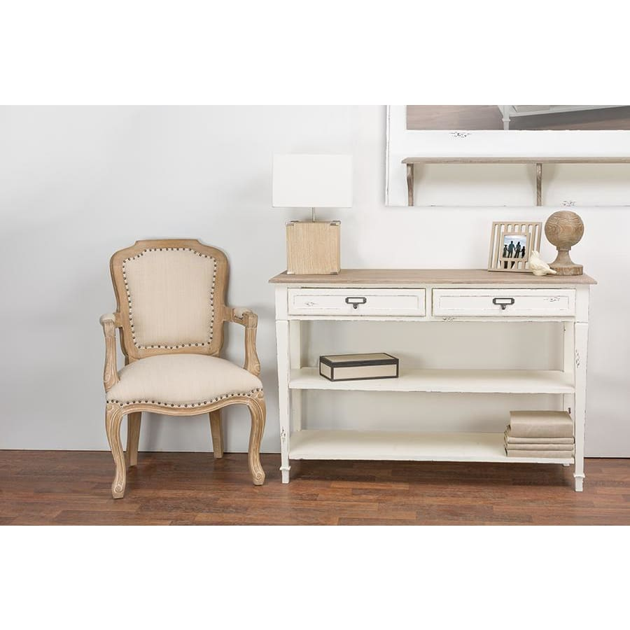 Baxton Studio Dauphine Traditional French Accent Console Table - Entryway Furniture
