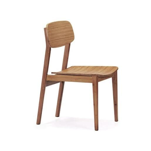 Greenington CURRANT Bamboo Chair - Caramelized (Set of 2) - Chairs