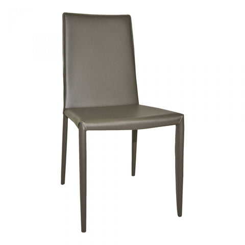 Moes Lusso Dining Chair Charcoal-M2 - Dining Chairs