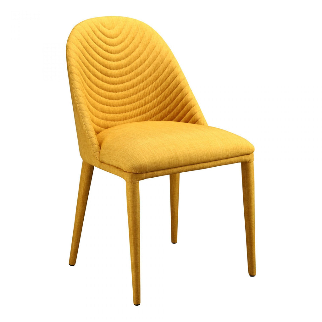 Moes Libby Dining Chair Yellow-M2 - Dining Chairs