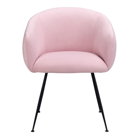 Moes Petula Dining Chair Pink - Dining Chairs