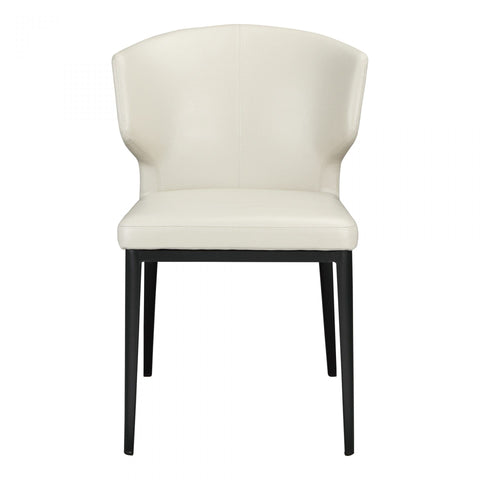 Moes Delaney Side Chair Beige-M2 - Dining Chairs