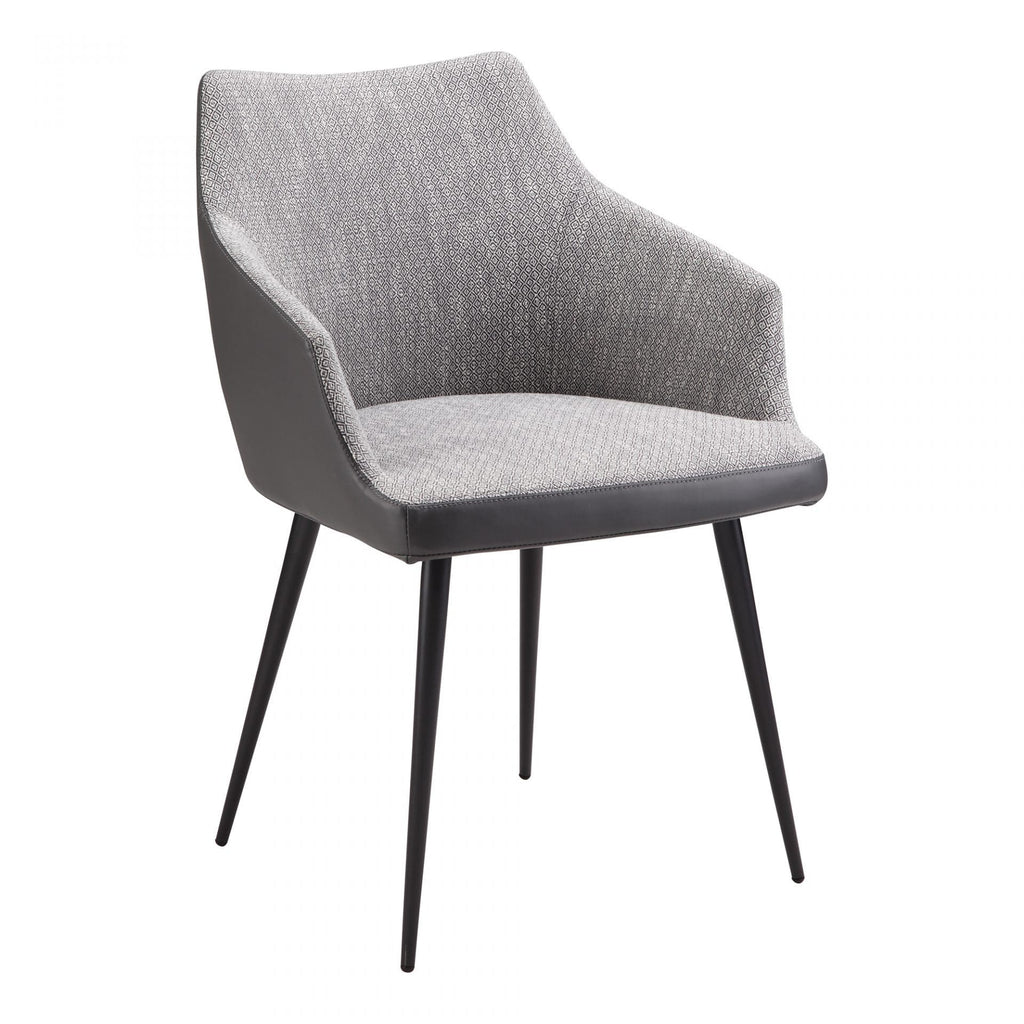 Moes Beckett Dining Chair Grey - Dining Chairs