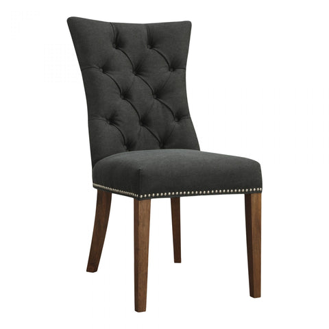 Moes Barclay Side Chair Black-M2 - Dining Chairs