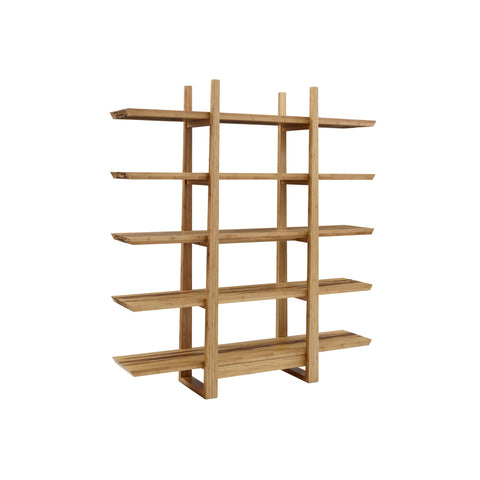 Greenington MANGOLIA Bamboo Shelf Caramelized with Exotic Tiger Inlay - Shelves & Cases