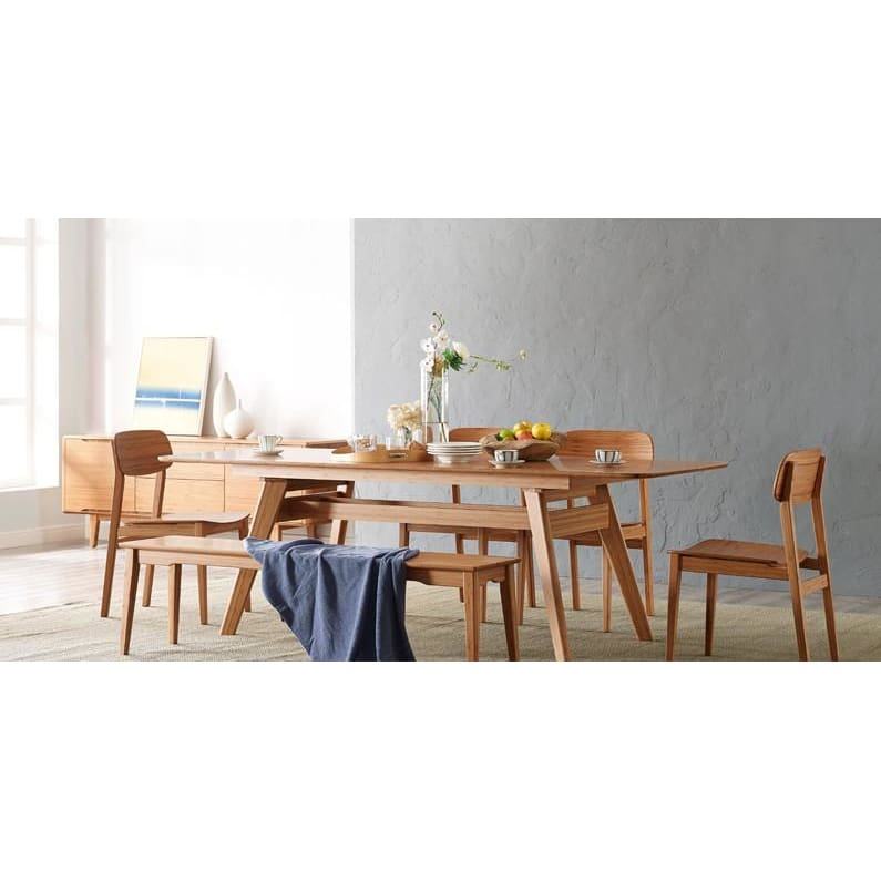Greenington CURRANT Bamboo 72 - 92 Extendable Dining Table - Caramelized