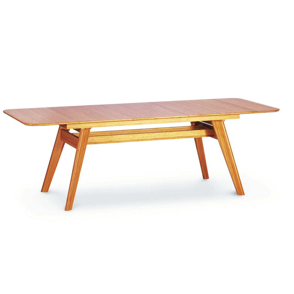 Greenington CURRANT Bamboo 72 - 92 Extendable Dining Table - Caramelized - Dining Tables