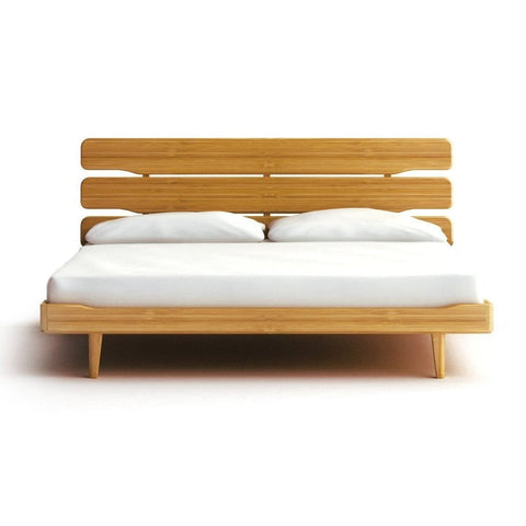 Greenington CURRANT Bamboo California King Platform Bed - Caramelized - Bedroom Beds