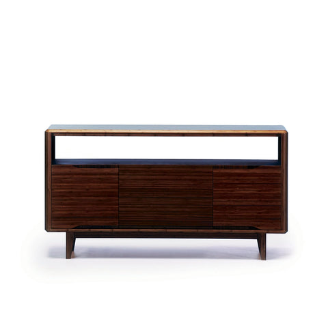 Greenington CURRANT Bamboo Media Unit - Black Walnut - TV Stands