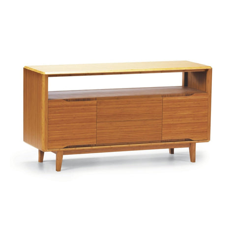 Greenington CURRANT Bamboo Media Unit - Caramelized - TV Stands