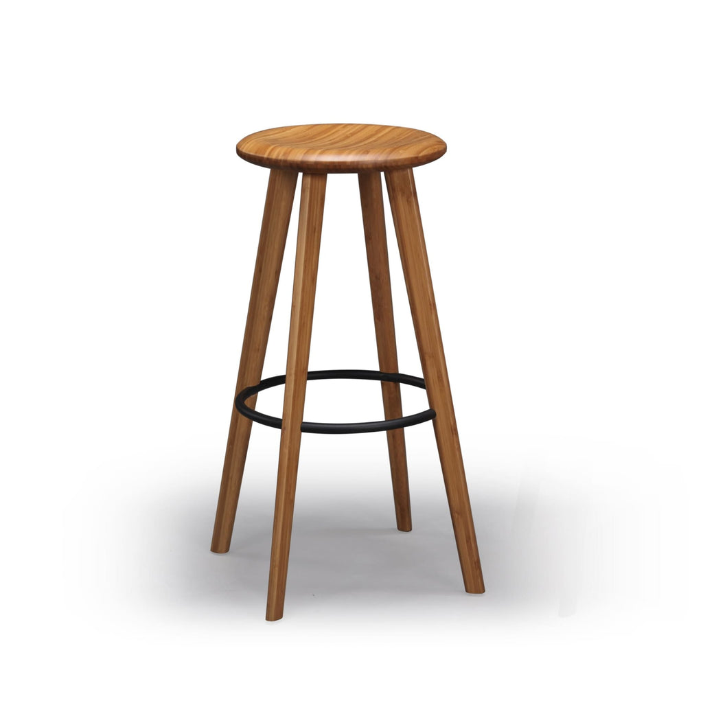 Greenington MIMOSA Bamboo 30 Bar Height Stool - Caramelized (Set of 2) - Stools