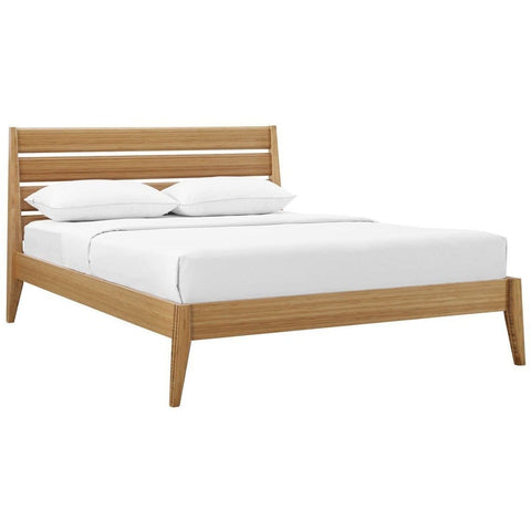 Greenington 3pc SIENNA Bamboo Queen Platform Bedroom Set - Caramelized - Bedroom