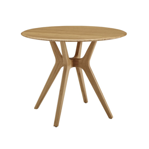 Greenington SITKA Bamboo 36 Round Dining Table - Caramelized - Dining Tables