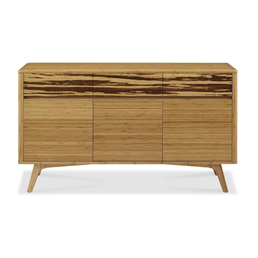 Greenington AZARA Bamboo Sideboard - Caramelized with Exotic Tiger - Storage