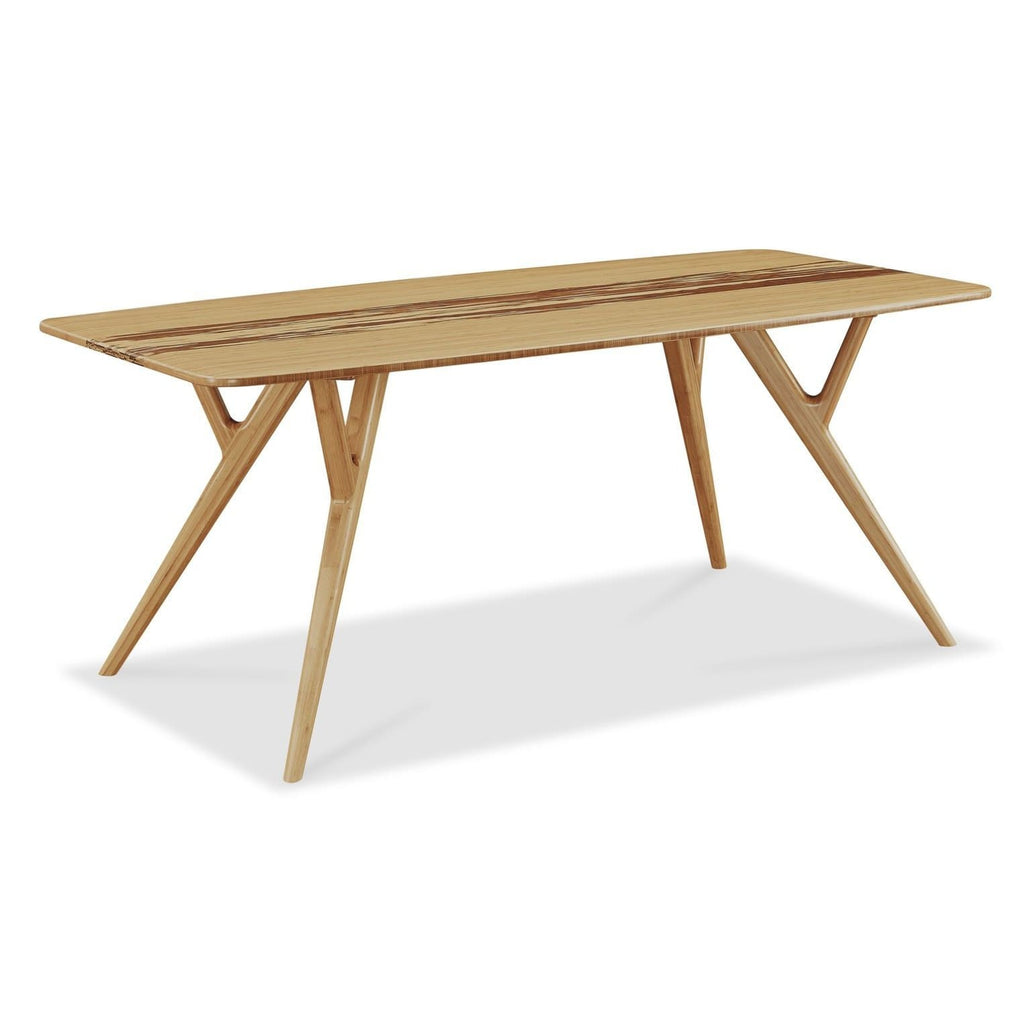 Greenington AZARA Bamboo Dining Table - Caramelized with Exotic Tiger - Dining Tables