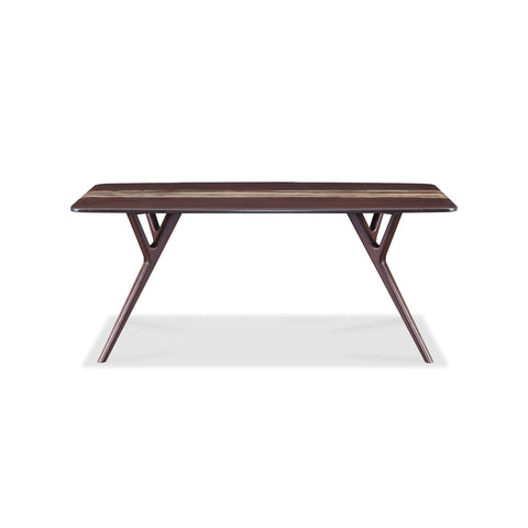 Greenington AZARA Bamboo Dining Table - Sable with Exotic Tiger - Dining Tables