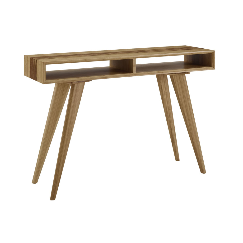 Greenington AZARA Bamboo Console Table - Caramelized with Exotic Tiger - Other Tables