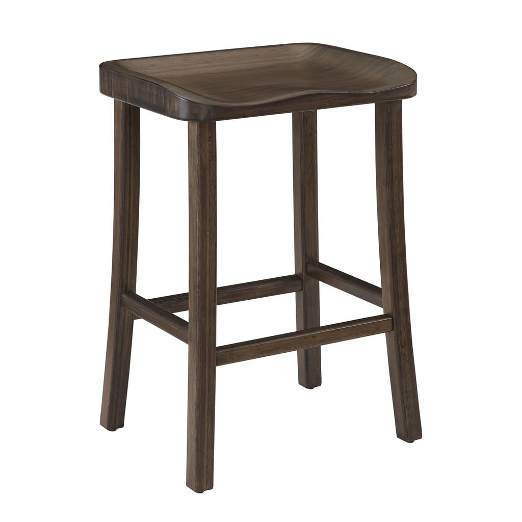 Greenington TULIP Bamboo 26 Counter Height Stool - Black Walnut (Set of 2) - Stools