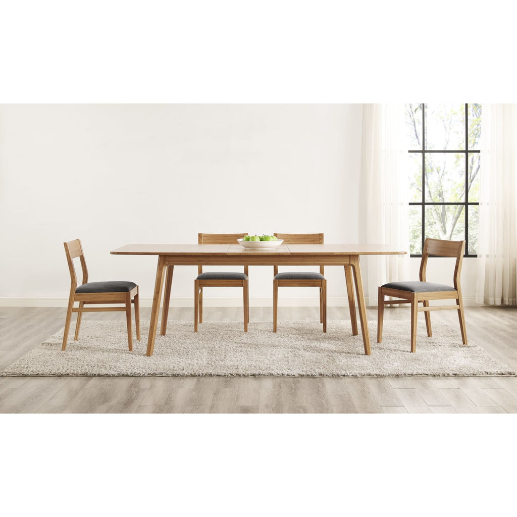 Greenington LAUREL Bamboo 64 - 84 Extendable Dining Table - Caramelized