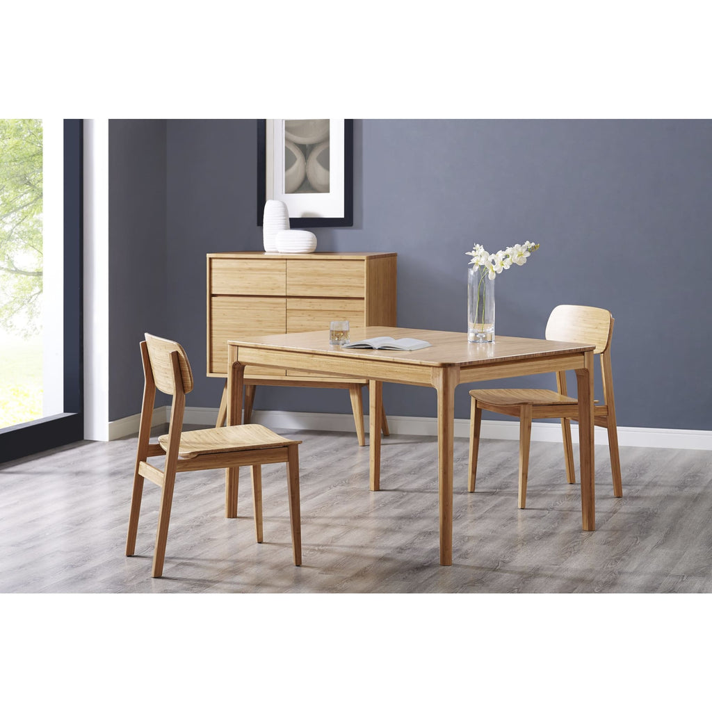 Greenington MIJA Bamboo 50 - 68 Extendable Dining Table - Caramelized