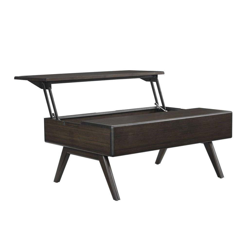 Greenington RHODY Bamboo Lift-Top Coffee Table - Havana - Coffee Tables