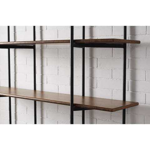 Greenington STUDIO LINE Bamboo Metal Shelf - Exotic - Shelves & Cases