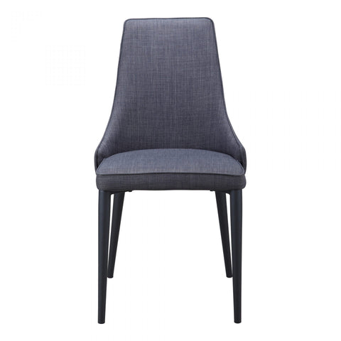 Moes Hazel Dining Chair Dark Grey-M2 - Dining Chairs