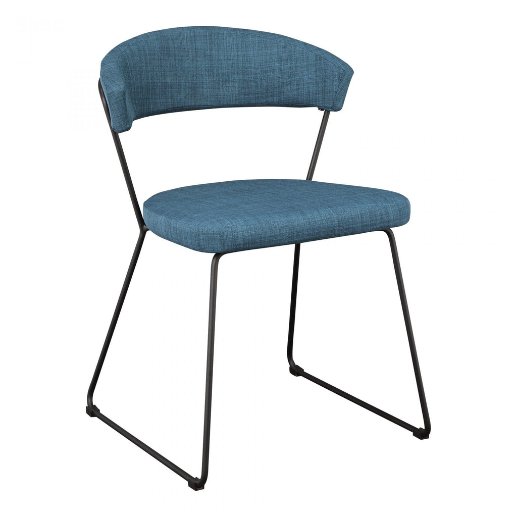 Moes Adria Dining Chair Blue-M2 - Dining Chairs