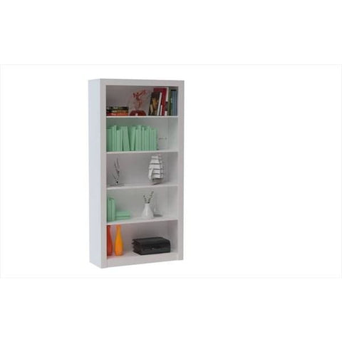 Accentuations by Manhattan Comfort Classic Olinda Bookcase 1.0 with 5 Shelves - Shelves & Cases