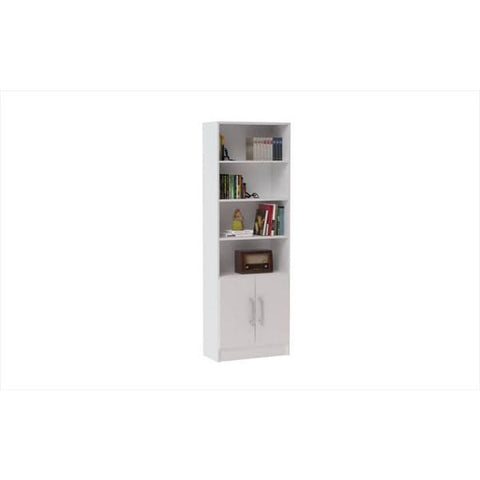 Accentuations by Manhattan Comfort Practical Catarina Cabinet with 6 Shelves - Shelves & Cases