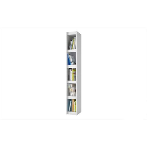 Accentuations by Manhattan Comfort Valuable Parana Bookcase 1.0 with 5 Shelves - Shelves & Cases