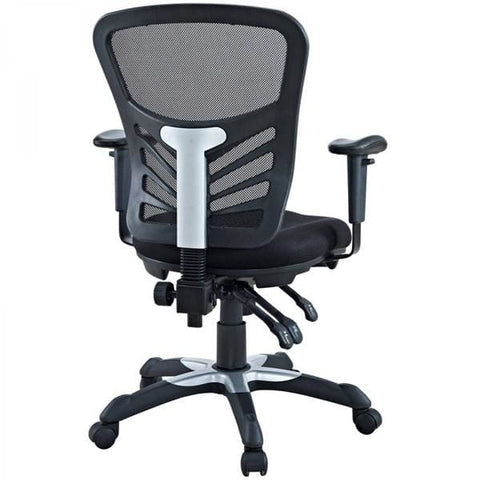 Manhattan Comfort Governor Executive Mesh High-Back Adjustable Office Chair Set of 2 - Office Chairs