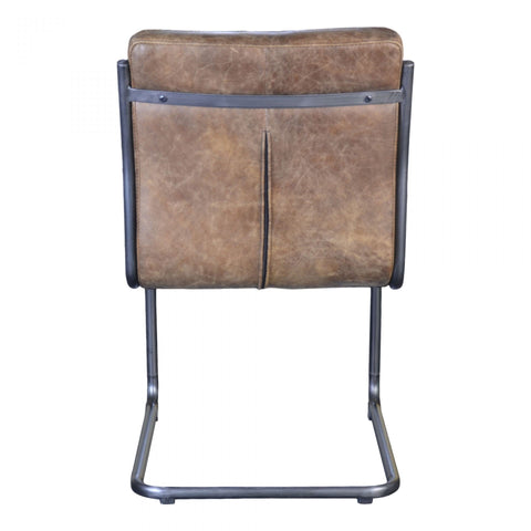 Moes Ansel Dining Chair Light Brown-M2 - Dining Chairs