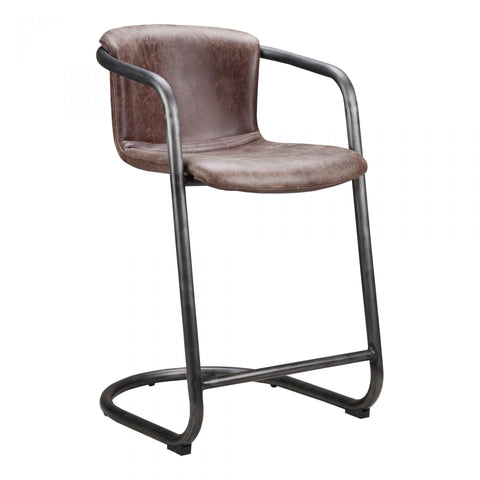 Moes Freeman Counter Stool Light Brown-M2 - Dining Chairs