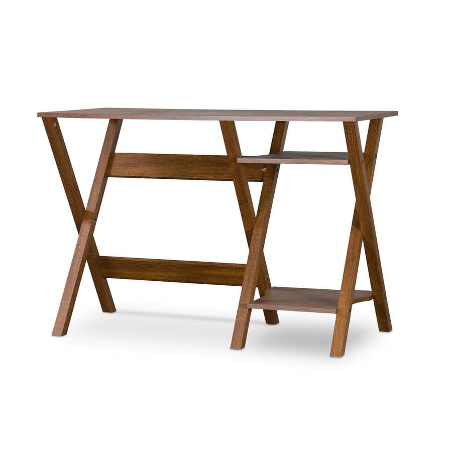 Baxton Studio Crossroads Writing Desk - Home Office Furniture