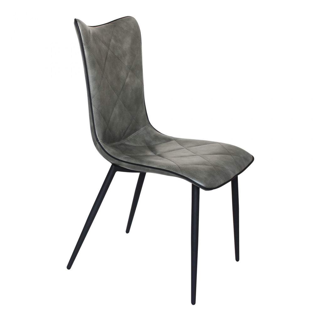 Moes Josie Dining Chair Grey-M2 - Dining Chairs