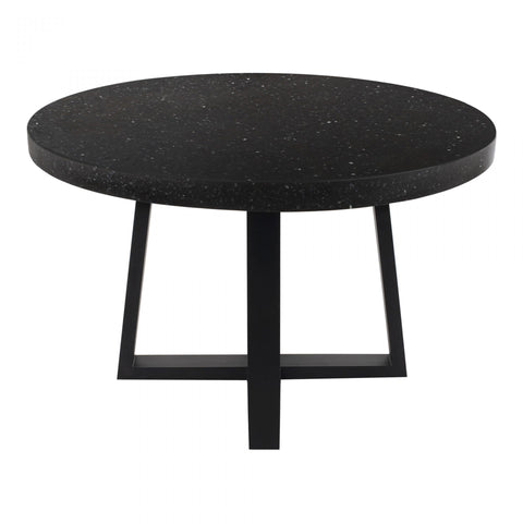 Moes Vault Dining Table Black - Dining Tables