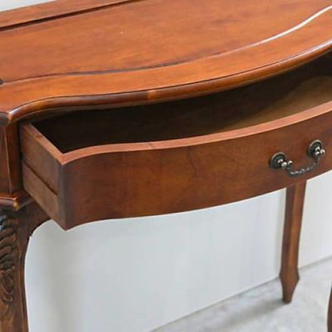 International Caravan Carved One Drawer Wall Table - Other Tables