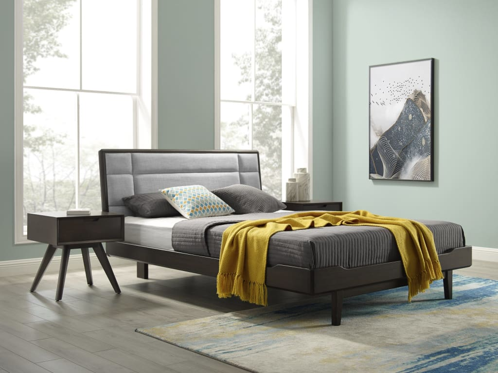 Eco Ridge by Bamax Oasis Eastern King Platform Bed Havana