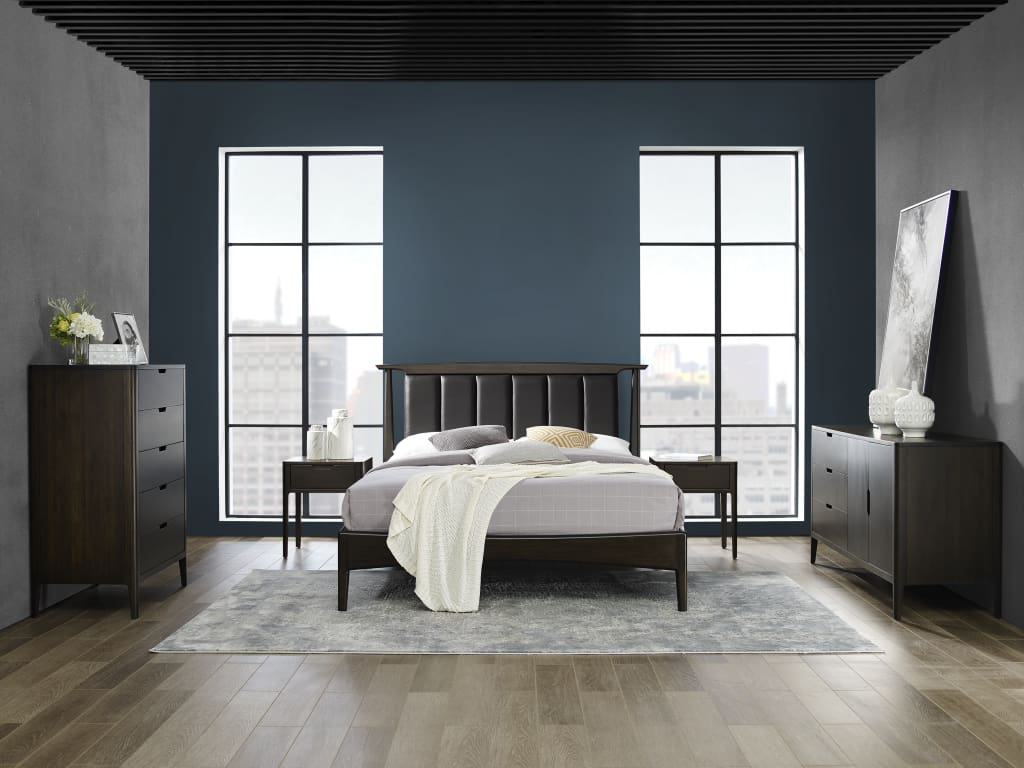Greenington CYPRESS Bamboo Eastern King Platform Bed - Havana