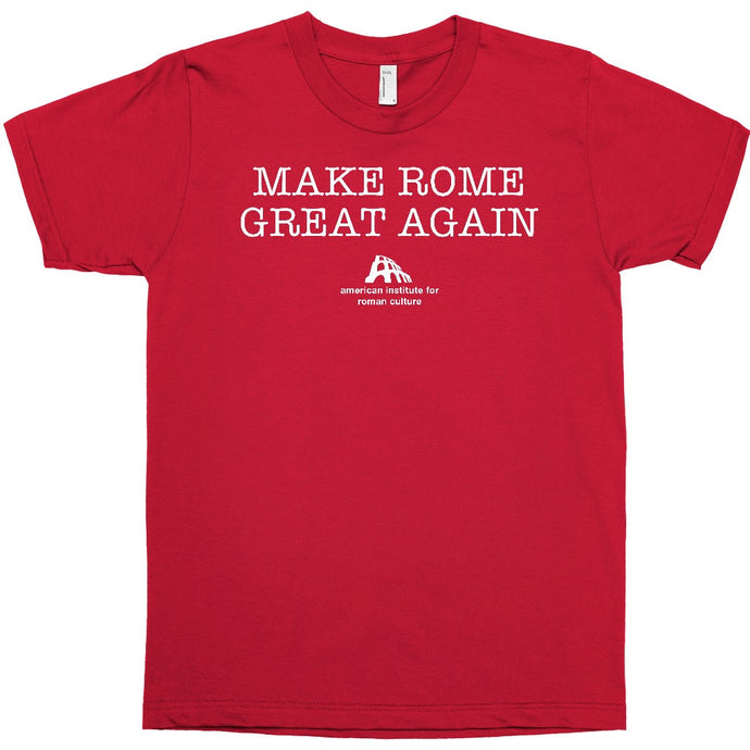Make Rome Great Again Tee · Red · Mens