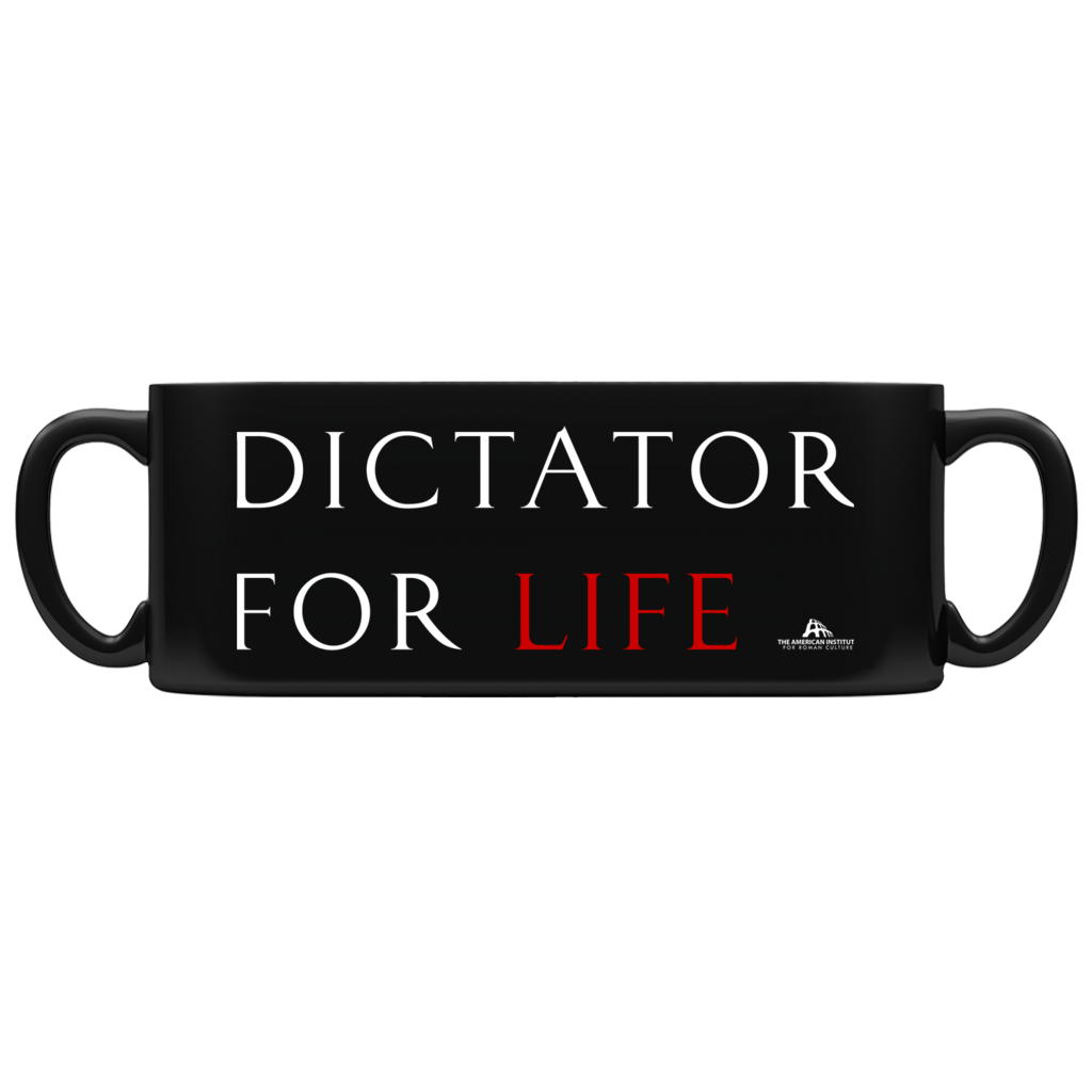 Dictator for Life Mug · Black