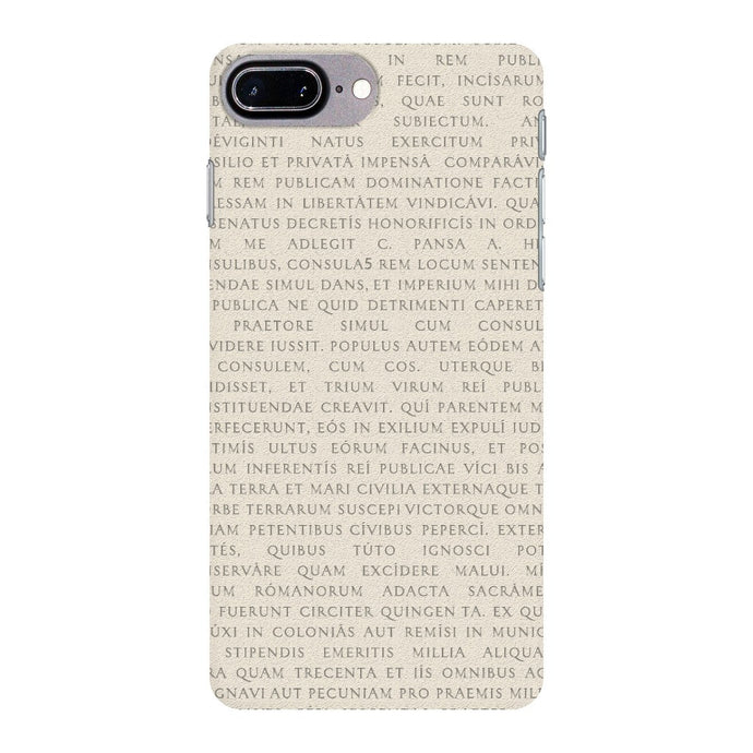 Res Gestae iPhone 7 Plus Case